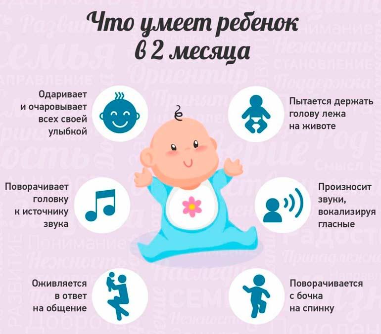 что-умеет-ребенок-в-2-месяца