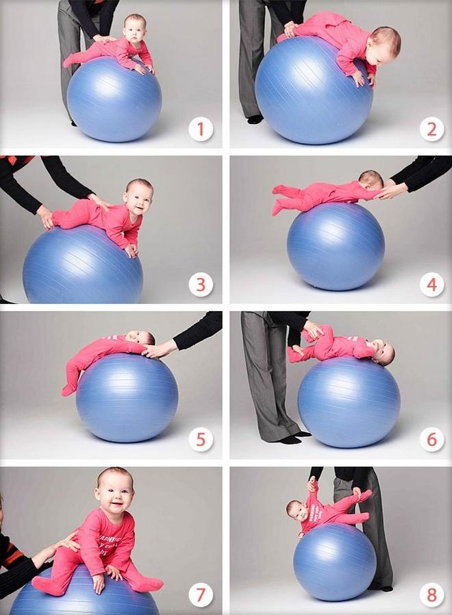 упражнения-на-фитболе-для-малышей