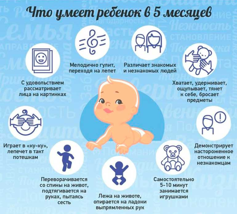 Что-умеет-ребенок-в-5-месяцев
