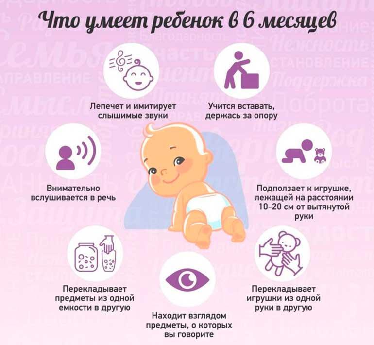 что-умеет-ребенок-в-6-месяцев