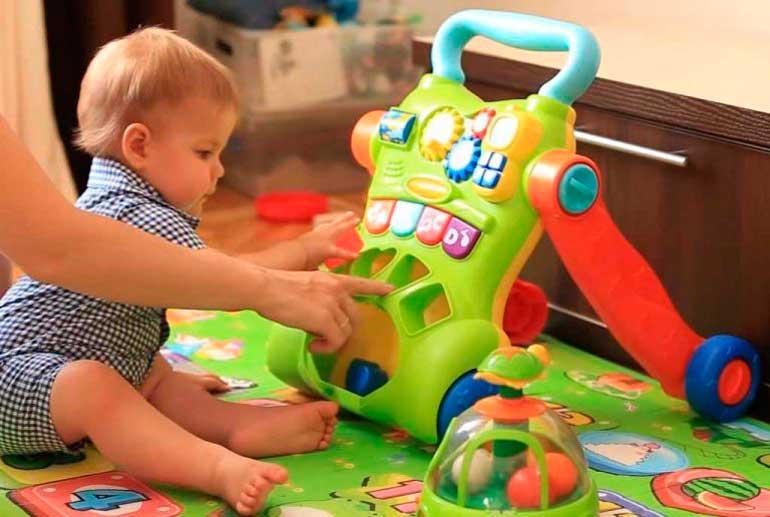 игры с ребенком в 11 месяцев