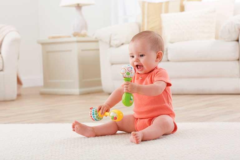 развитие ребёнка в 9 месяцев