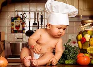 питание малыша в три месяца