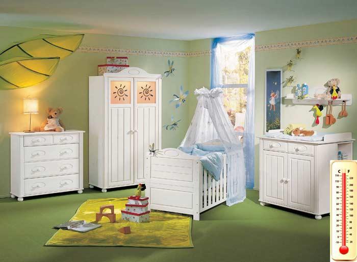 температура в комнате для новорожденного