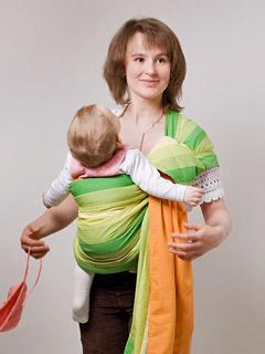 слинги для новорожденных