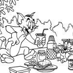 Том и Джерри на пикнике
