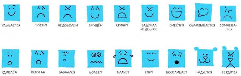 рисуем эмоции