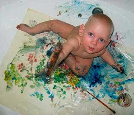 рисуем-красками-в-1.5-года