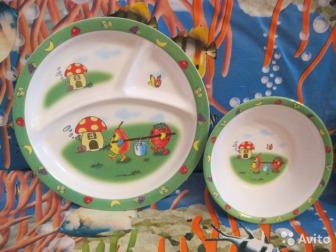 тарелки для кормления ребенка