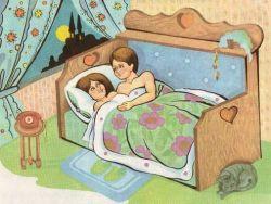 в возрасте 5-7 лет родителям предстоит впервые поговорить с ребёнком о сексе