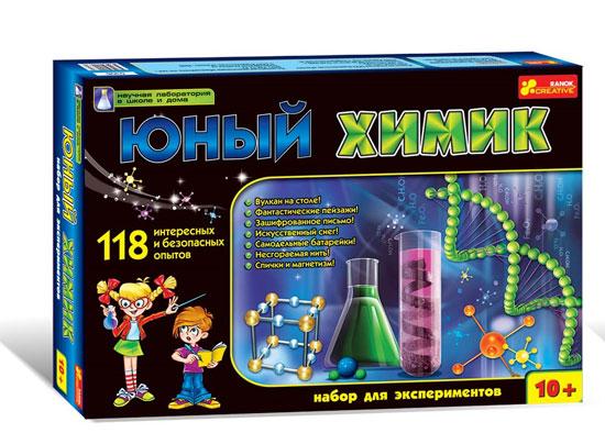 наборы юного химика