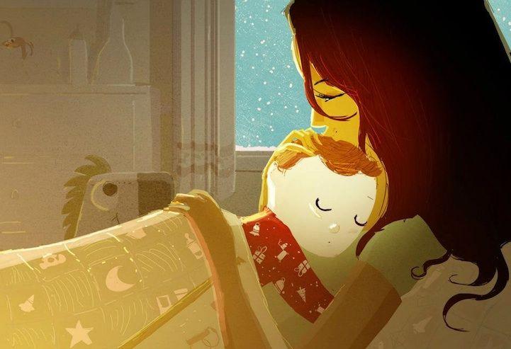 разговор с ребенком перед сном