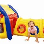 детские игровые надувные домики