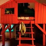 домик кровать