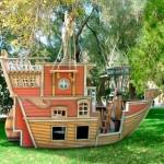 игровой домик корабль