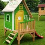 игровые деревянные домики для детей