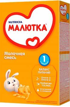 Молочная смесь сухая МАЛЮТКА 1