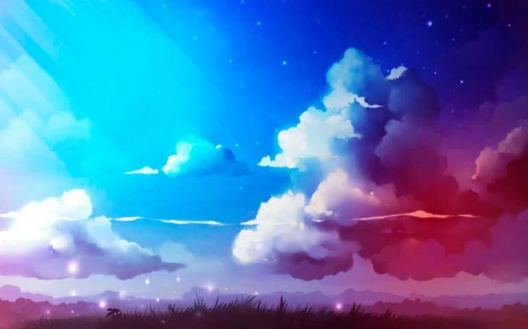 почему небо голубое