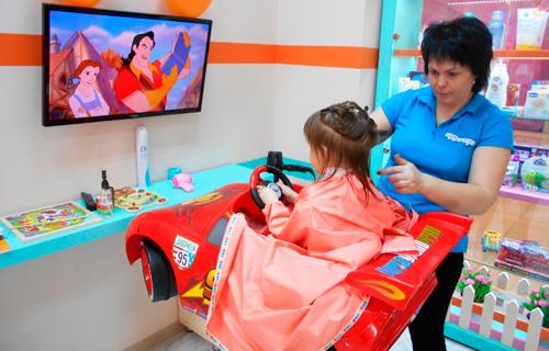 детские парикмахерские