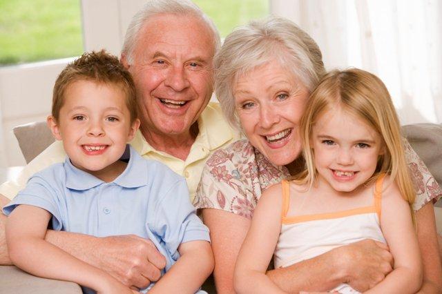 бабушки и дедушки и воспитание детей