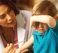 ребенок боится уколов