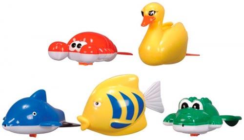 Игрушки для ванной заводные