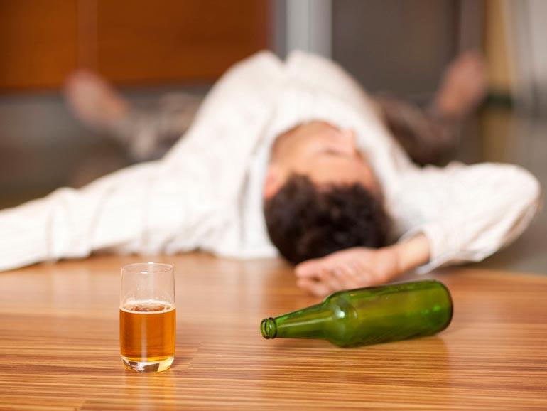 папа-алкоголик
