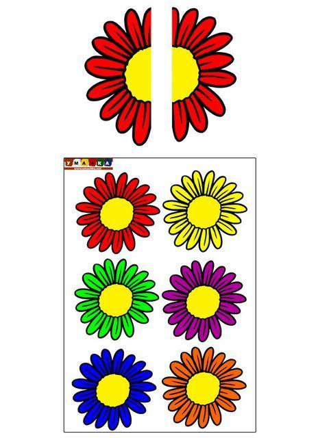 Половинки-цветка