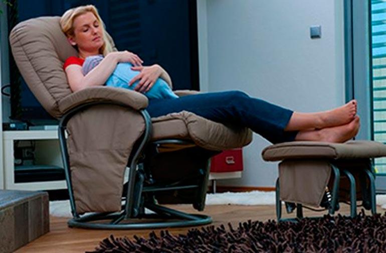кресла качалки для кормящих мам