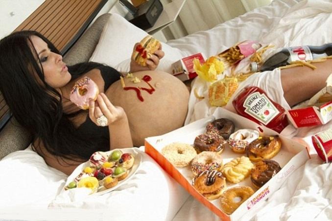 вредная еда для беременных