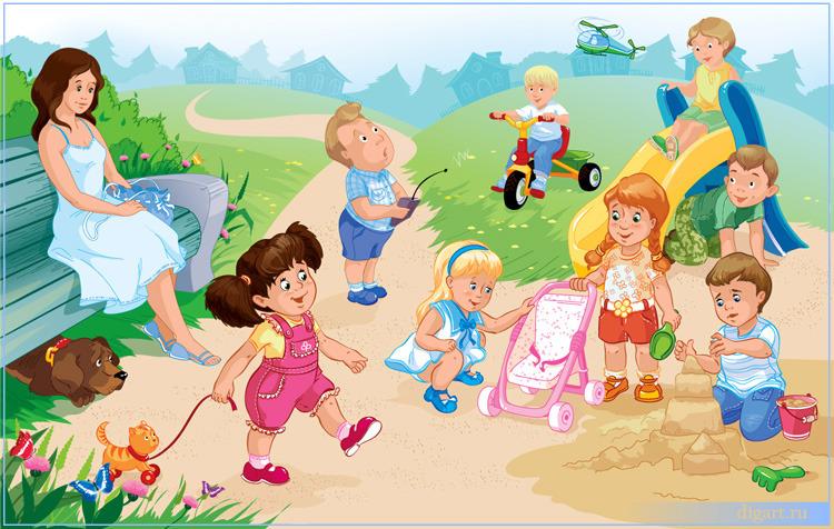 Картинки по запросу картинка дети лето