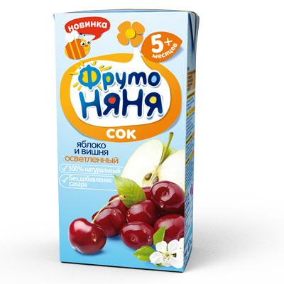 сок детский из вишни