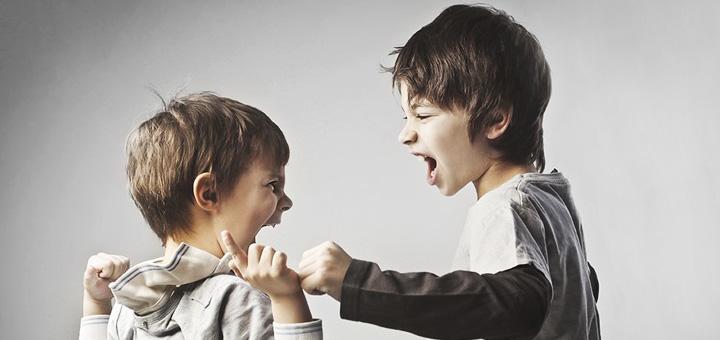 старший ребенок обижает младшего