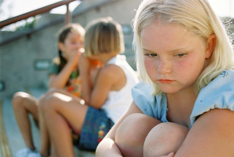 неуверенный ребенок