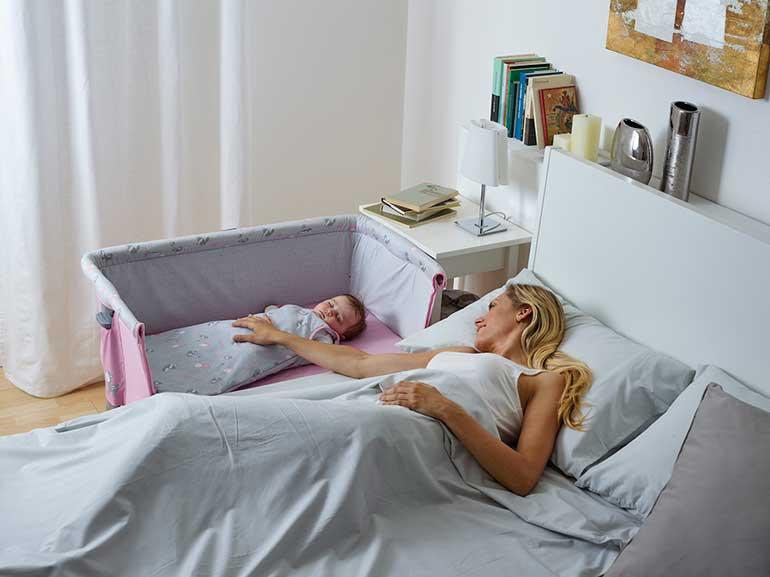 приставные кроватки и кормление грудью