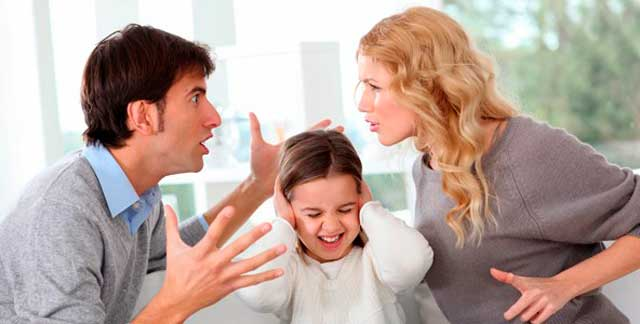 Как скандалы в семье влияют на ребенка