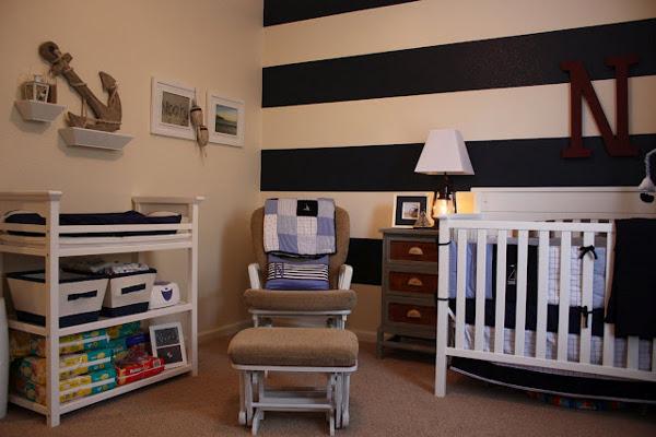комната для новорожденного мальчика