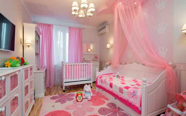 комната-для-новорожденной-девочки
