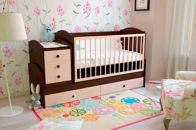 кроватка дрансформер для новорожденного
