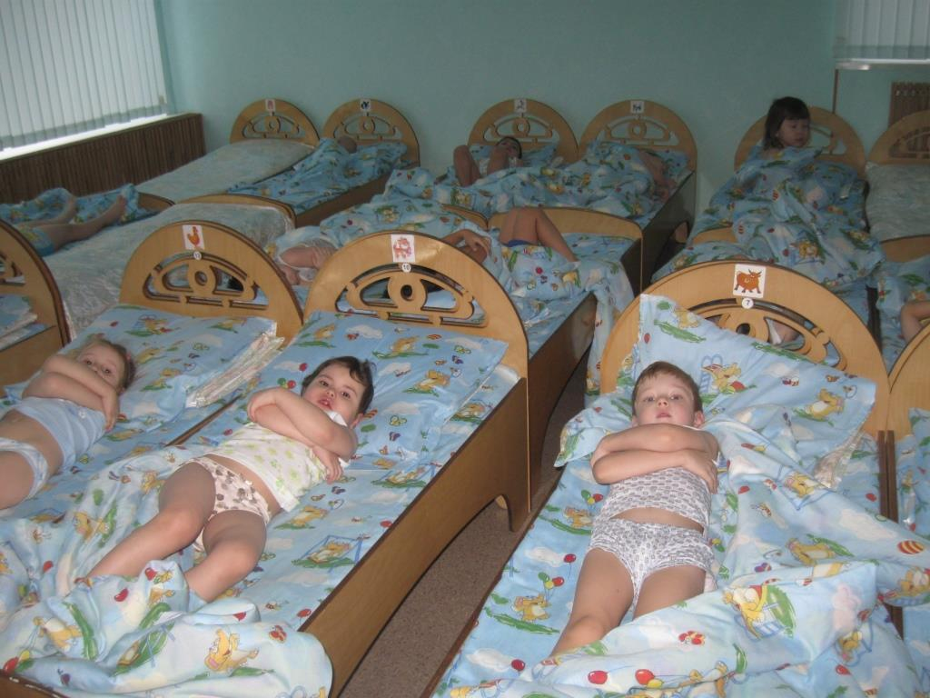 дневной сон в детском саду