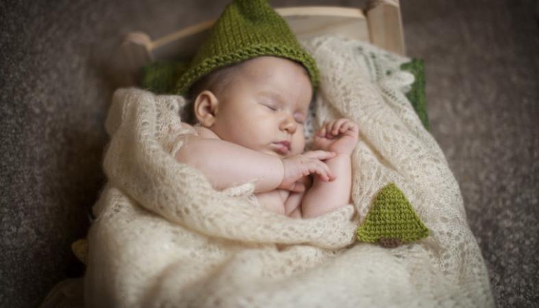 укладывание младенца спать