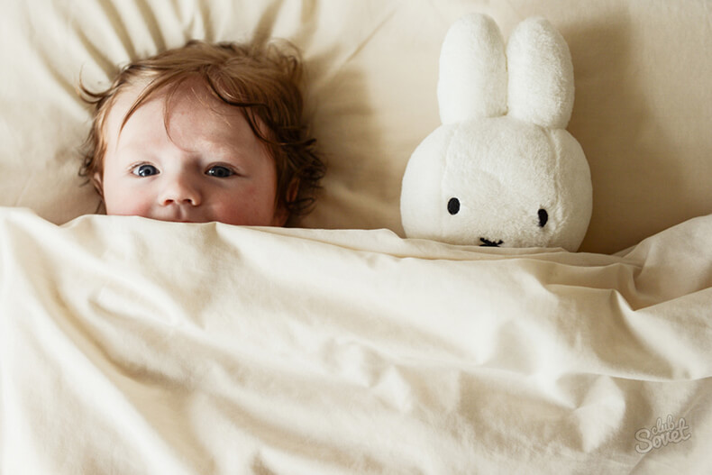 укладывание ребенка спать