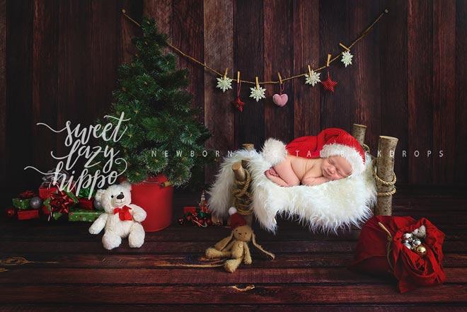 Новый год с новорожденным ребенком