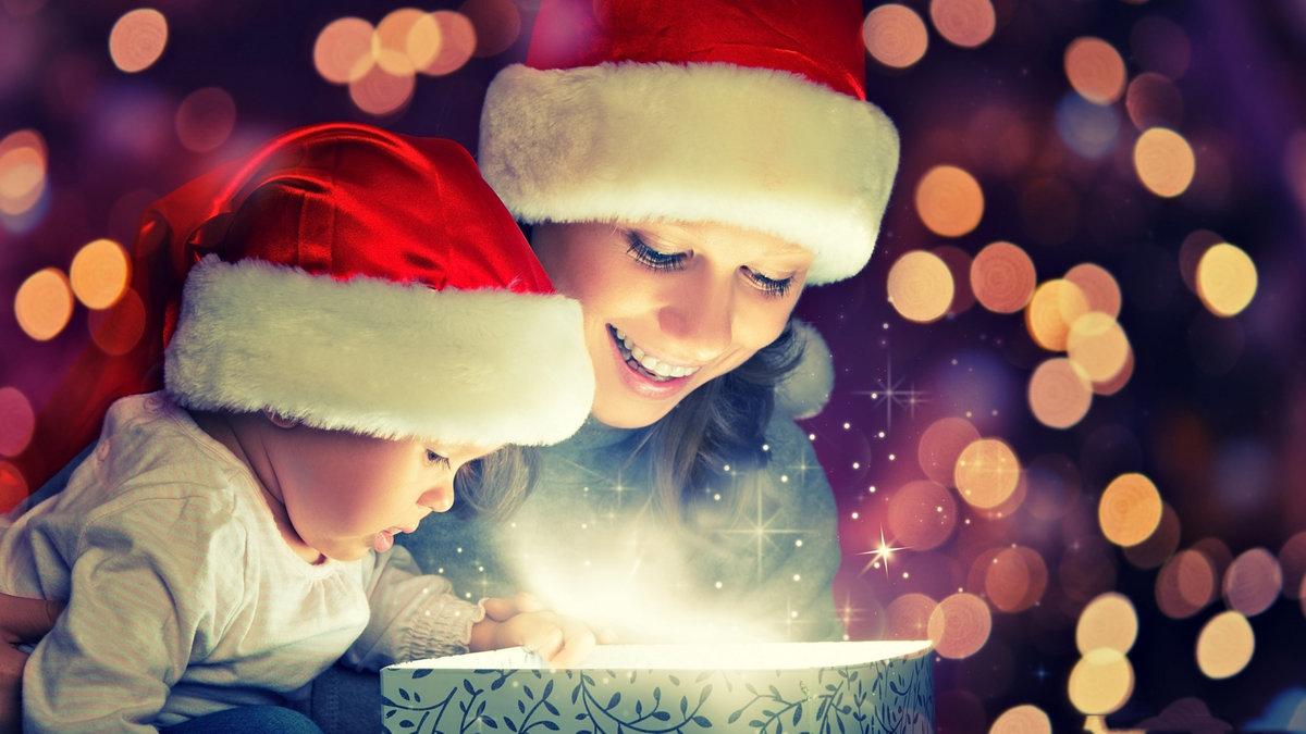 новый год подарки детям