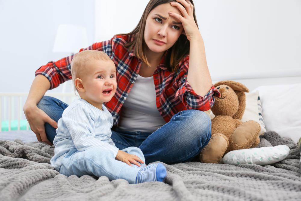 трудности материнства