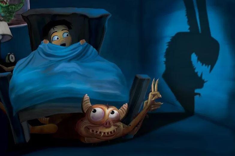 детские страхи чудовище под кроватью