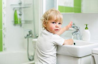 безопасность ребенка в ванной