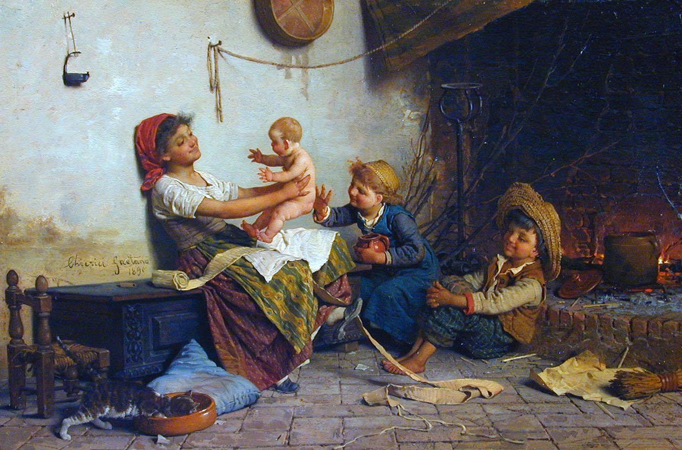 воспитание младенцев в прошлом веке-2
