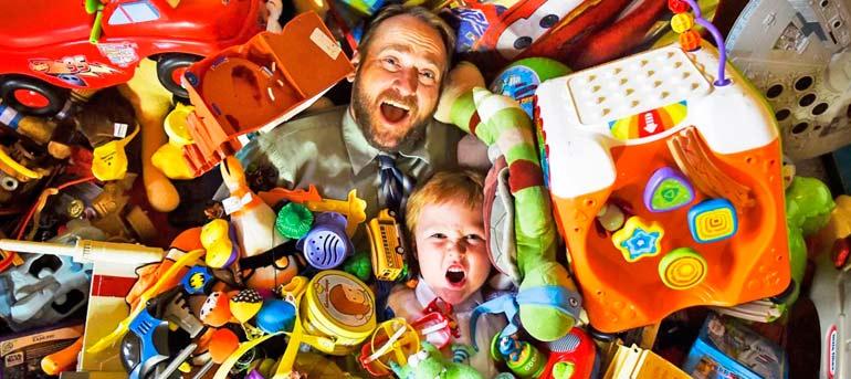 сколько игрушек нужно ребенку в 2 года
