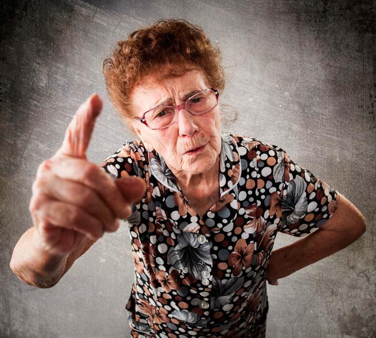 вредные советы бабушек и дедушек
